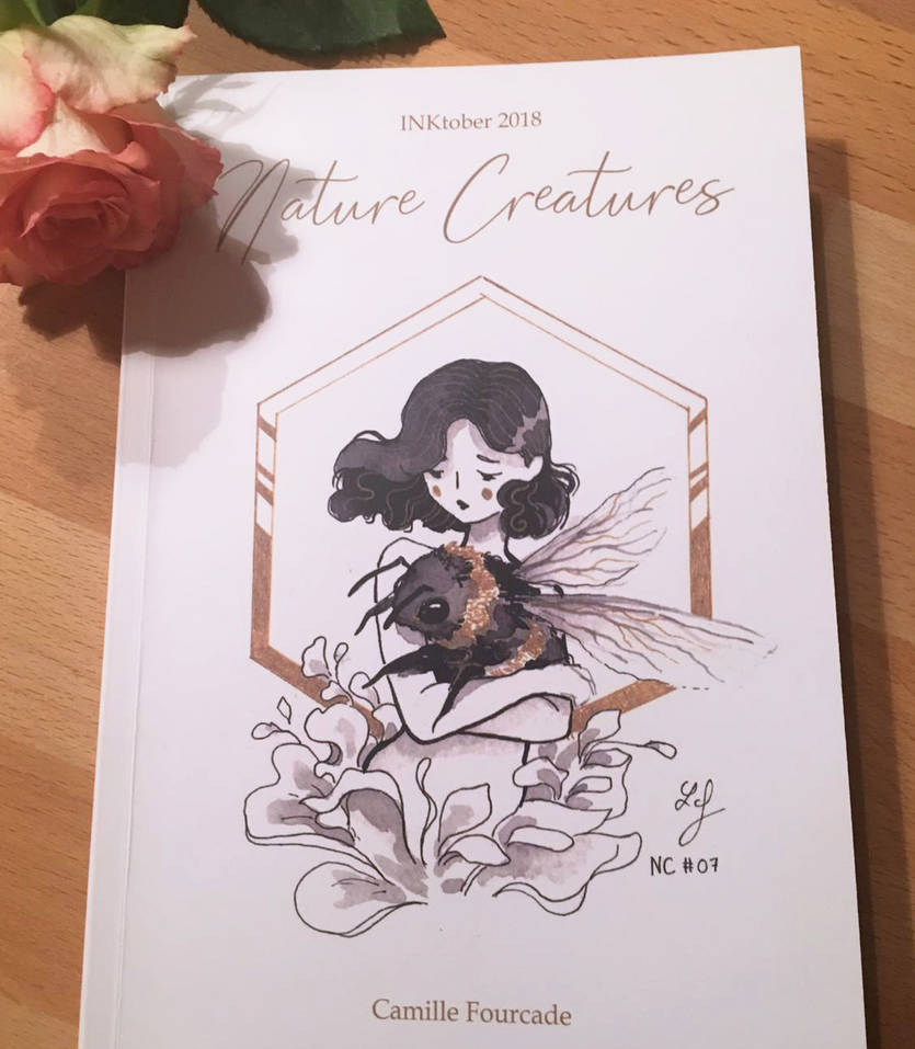 Inkbook 2018 - Nature Creatures by Ludmila-Cera-Foce