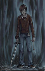 HP: Soggy Ron by Saehral