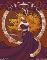 PE Art Nouveau Mia by Saehral