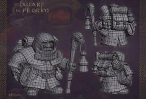 Dwarf Pilgrim by jips3d