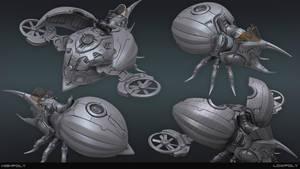 Technical Bug Deviant by jips3d
