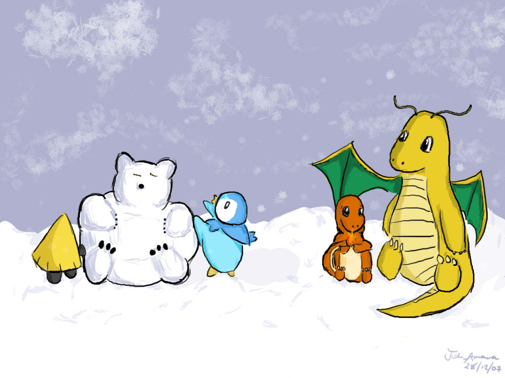 Winter Play by JediAmara