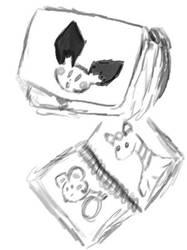 Pokemon Schoolbag by JediAmara