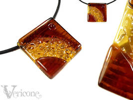 Maps - glass lowrider pendant by vericone