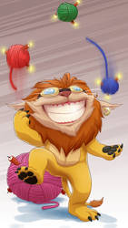 Lion King Ziggs by Graveitor