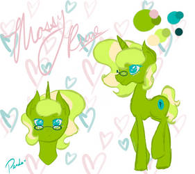Mossy Rune ref sheet updated by Awesome--Panda