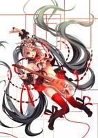 Hatsune Miku's Day by Marmaladica