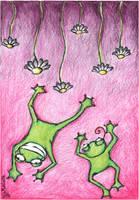 frogs by Dzien-dobry