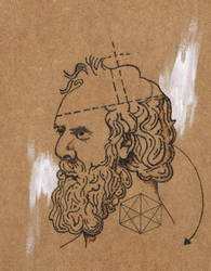 Plato tattoo design by Nathand251