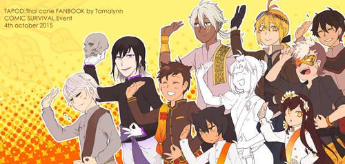 Tapod Fanbook by tama-lynn