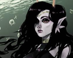 little mermaid by RainMentality