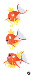 Magikarp and ALL ITS GLORY by Nortiker