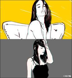 Girls sketch_Mar 2017 by Chozan