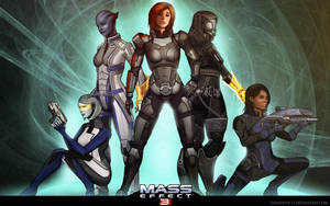 Mass Effect 3 by demidevil13