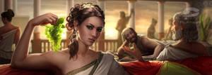 greek girl by demidevil13