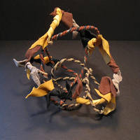 Wire and Leather Scraps by Cimeara