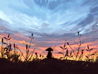 Taking a breather by Kunochai