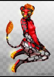 .:Pretty FireJagg:. by Squidacious