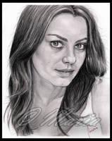 Mila Kunis by mariaanghel