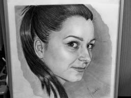 Selfportrait by mariaanghel