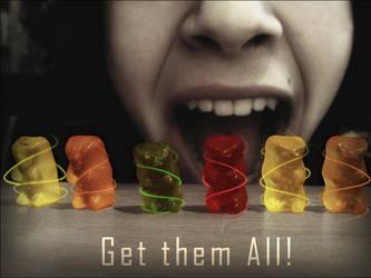 Get them all. by l-Creativeone-l