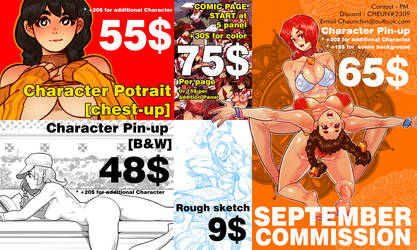 September commission update by Cheunchin