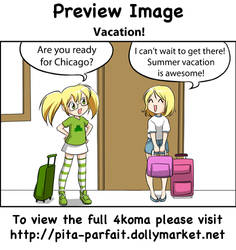 Vacation - 4koma - Preview by Pita-Parfait