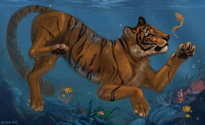 Sea life by FlashW