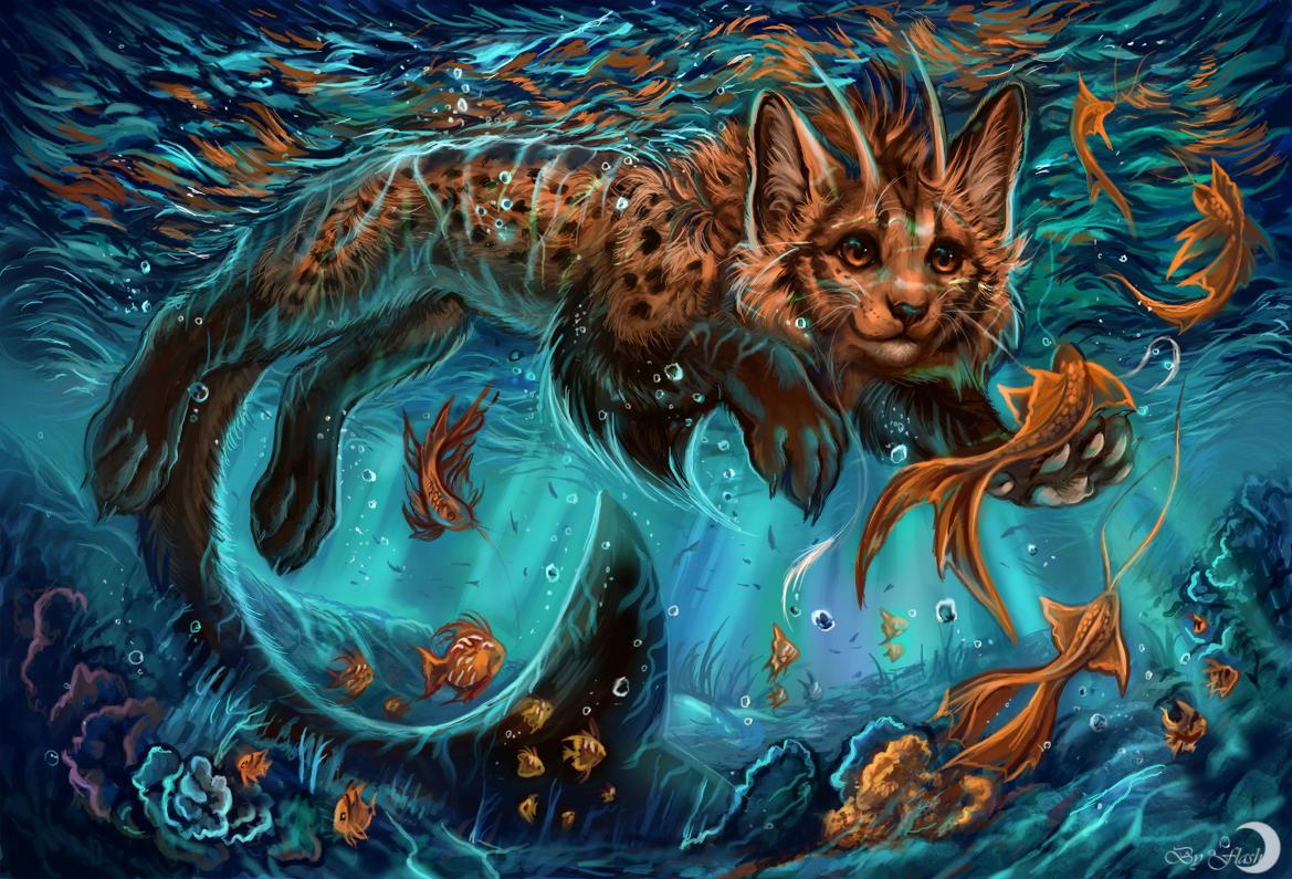 Underwater by FlashW