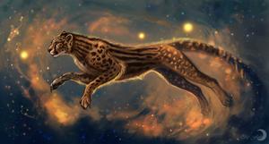 The cosmic strings by FlashW