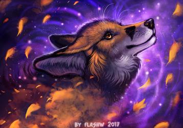 Shooting stars by FlashW