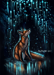 The Cave of Fireflies by FlashW