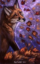 Shining autumn by FlashW