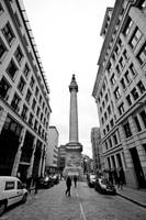 London Monument Street by Thameralhassan