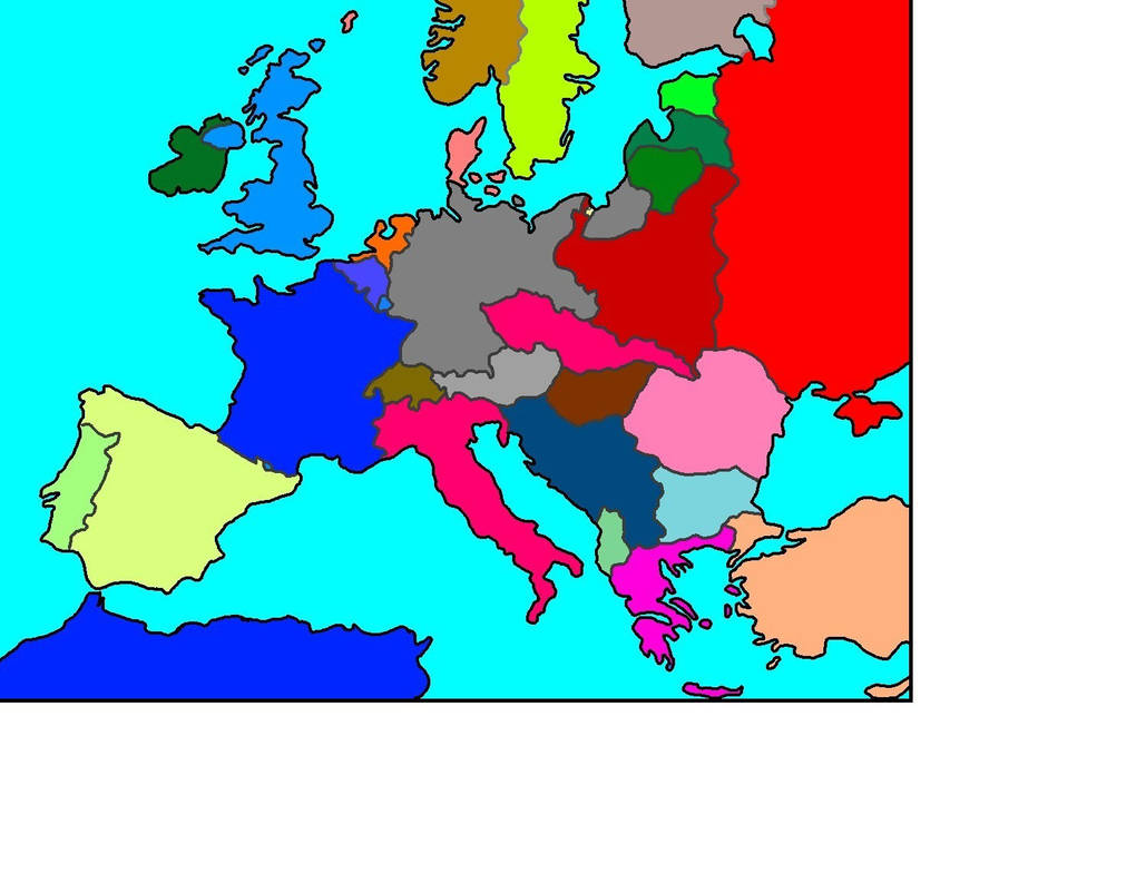 Map Europe 1936 | www.topsimages.com