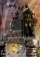 BATMAN Arkham Asylum by MightyMoose