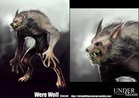 Werewolf Concept by MightyMoose