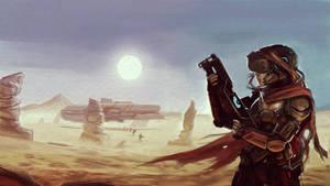Desert Raid by MightyMoose
