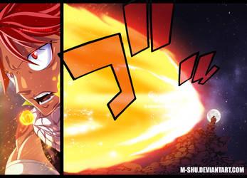 Fairy Tail 423 _ Natsu by M-Shu