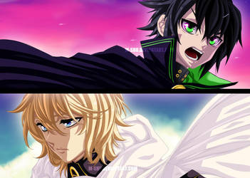 Owari No Seraph  The Two Who Survived by M-Shu