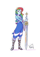 Request - Alternative Universe Rainbow Dash by Jurill