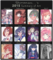 2018 Art Summary by gabiiaba