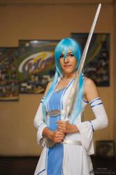 Asuna~ Take your sword! by Rinoa-Light-Leonhart