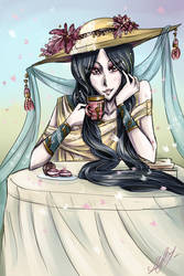 Cherry tea by Rinoa-Light-Leonhart