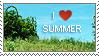 Stamp: Summer by pralinkova-princezna