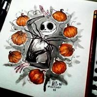 Jack_Pumpkin_Inktober by ElisEiZ