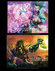 WOW cards part 4 by Markovah