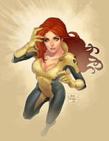 Jean Grey X-Men by Markovah
