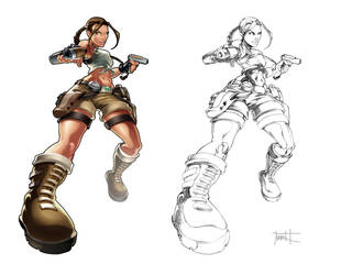 Tomb Raider: Lara Croft by Markovah