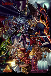 Darkstalkers by Godfrey n moi by Markovah